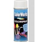 Color Works Colorsprej 918516C stříbrný lesklý akrylový lak 400 ml