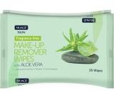 Nuagé Skin Aloe Vera vlhčené odličovací ubrousky 25 kusů