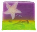 Bomb Cosmetics Sametová hvězda - Velvet Star Přírodní glycerinové mýdlo 1 kg blok