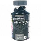 Kittfort Color Line 2v1 tekutá tónovací a malířská barva 20 Antracit 350 g