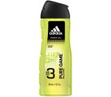 Adidas Pure Game 3v1 sprchový gel na tělo, tvář a vlasy pro muže 400 ml
