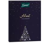 Kneipp Adventní kalendář 2021 mix koupelových a masážních olejů, sprchových gelů, tělových peelingů, solí do koupele, tělové mléko, balzámu na rty a krémů na ruce, kosmetická sada