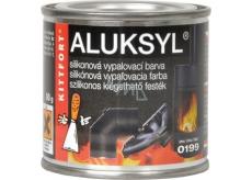 Aluksyl Silikonová vypalovací barva Černá 0199 80 g