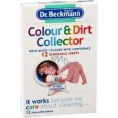 Dr.Beckmann Colour&Dirt Collector lapač barev a špíny 10 kusů