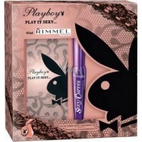 Playboy Play It Sexy toaletní voda 30 ml + řasenka 8 ml, dárková sada