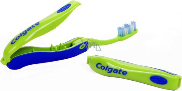 Colgate Portable skládací měkký zubní kartáček pro děti 1 kus