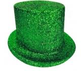 Cylindr karnevalový 25 cm zelený
