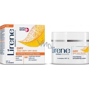 Lirene Healthy Skin+ výživný vyhlazující krém pro suchou a velmi suchou pleť 50 ml