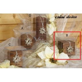Lima Wellness Present Skořice aroma svíčka krychle 65 x 65 mm 1 kus