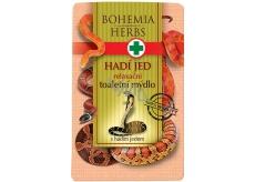 Bohemia Gifts & Cosmetics Hadí jed Relaxační toaletní mýdlo 100 g