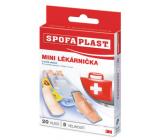 3M Spofaplast Mini lékárnička 5 druhů náplastí 20 kusů
