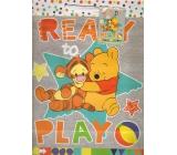 Ditipo Dárková papírová taška 26,4 x 12 x 32,4 cm Disney Medvíde Pú, Ready To Play