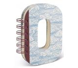 If Alphabooks Note Books Zápisník ve tvaru písmena O 91 x 14 x 124 mm