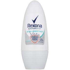 DÁREK Rexona Active Shield Fresh kuličkový antiperspirant deodorant roll-on pro ženy 50 ml