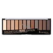 Rimmel London Magnifeyes Paleta očních stínů 001 Nude Edition 14,16 g