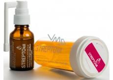 Streptokill Přírodní antiseptikum pro podporu obranyschopnosti a dýchacích cest, bylinné kapky s ústním aplikátorem 25 ml