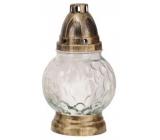 Admit Lampa skleněná Koule čirá 21 cm 26 hodin 65 g