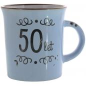 Albi Plecháček keramický hrnek s nápisem 50 let 320 ml