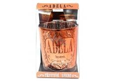 Albi Třpytivý skleněný svícen na čajovou svíčku ADÉLA, 7 cm