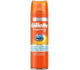 Gillette Fusion 5 Ultra Sensitive Hydratační gel na holení 200 ml