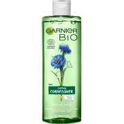 Garnier Bio Soothing Cornflower Organická voda z chrpy a z ječmene micelární voda pro všechny typy pleti 400 ml