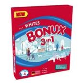 Bonux White Polar Ice Fresh 3v1 prací prášek na bílé prádlo 4 dávky 300 g