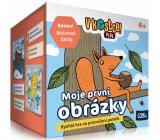 Albi V kostce! Plus Moje první obrázky patnáctiminutová hra na procvičení paměti a vědomostí doporučený věk 4+