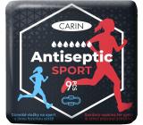 Carin Antiseptic Sport ultratenké hygienické vložky s křidélky pro sport 9 kusů
