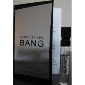 Marc Jacobs Bang toaletní voda pro muže 1,2 ml s rozprašovačem, Vialka