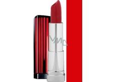 Maybelline Color Sensational rtěnka 470 Red Revolution 3,6 g