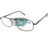 Berkeley Čtecí dioptrické brýle +1,0 hnědé kov CB02 1 kus MC2005