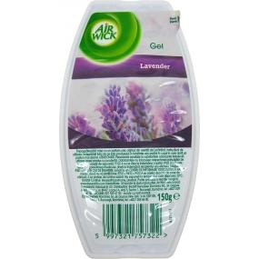 Air Wick Levandulové louky Lavender Meadow gelový osvěžovač vzduchu 150 g