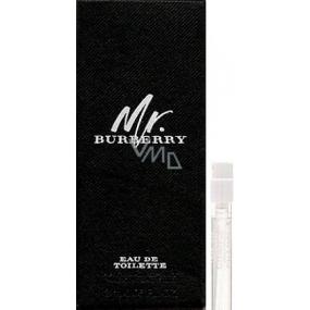 Burberry Mr. Burberry toaletní voda pro muže 2 ml s rozprašovačem, Vialka