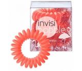 Invisibobble Fancy Flamingo limitovaná edice 3 matně oranžových gumiček