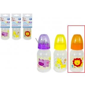 First Steps Jungle Lev 0+ dětská láhev 250 ml