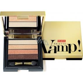 Pupa Vamp Palette paletka očních stínů 004 Pure Gold 4 g