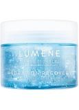 Lumene Source Hydration Recovery Aerating Gel Mask hydratační obnovující okysličující pleťová gelová maska pro všechny typy pleti 150 ml