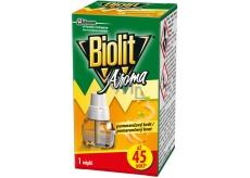 Biolit Aroma Elektrický odpařovač s vůní pomeranče proti komárům 45 nocí náhradní náplň 27 ml