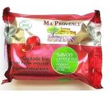 Ma Provence Bio Granátové jablko Marseille toaletní mýdlo 75 g