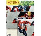 Nekupto Balicí papír vánoční pro děti Avengers 70 x 200 cm 1 role BLI 048