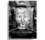Barber Pro Pleťová maska textilní po holení pro muže 30 g