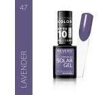 Revers Solar Gel gelový lak na nehty 47 Lavender 12 ml