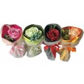 NeoCos Mýdlová růže kytice v papíru červená 1 kus