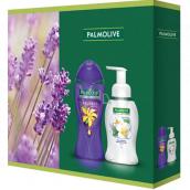 Palmolive Aroma Sensations So Relaxed sprchový gel 250 ml + Magic Softness Jasmine tekuté mýdlo dávkovač 250 ml, kosmetická sada