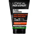 Loreal Paris Men Expert Pure Carbon Anti-imperfection 3v1 čistící pleťový gel 100 ml