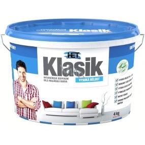 Het Klasik interiérová disperzní vysoce bílá malířská barva 4 kg