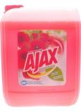 Ajax Floral Fiesta Red Flowers univerzální čistící prostředek 5 l
