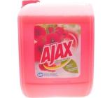Ajax Floral Fiesta Red Flowers univerzální čisticí prostředek 5 l