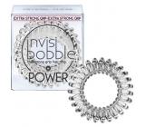 Invisibobble Power Crystal Clear Gumička do vlasů průhledná spirálová 3 kusy