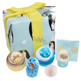Bomb Cosmetics Tučňáková párty balistik 2x160 g + máslový špalíček 2x50 g + kulička 30 g + mýdlo 100 g, kosmetická sada